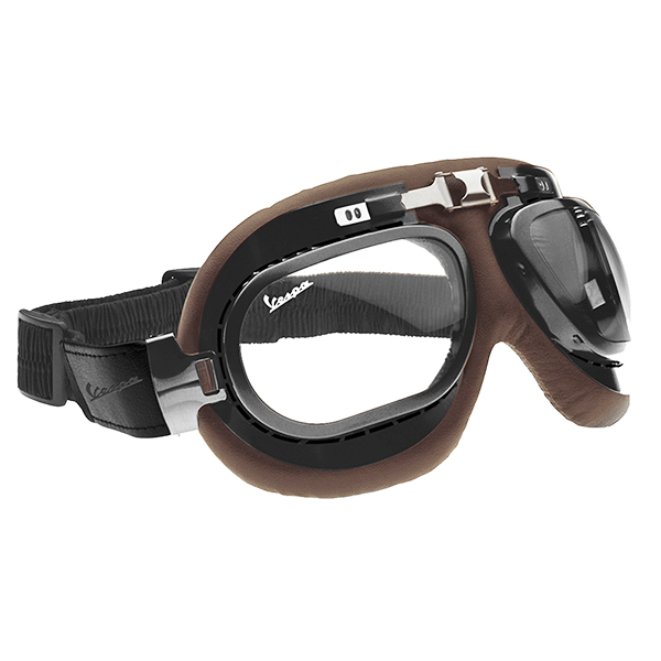 Vespa Official Vintage Goggles(Brown)