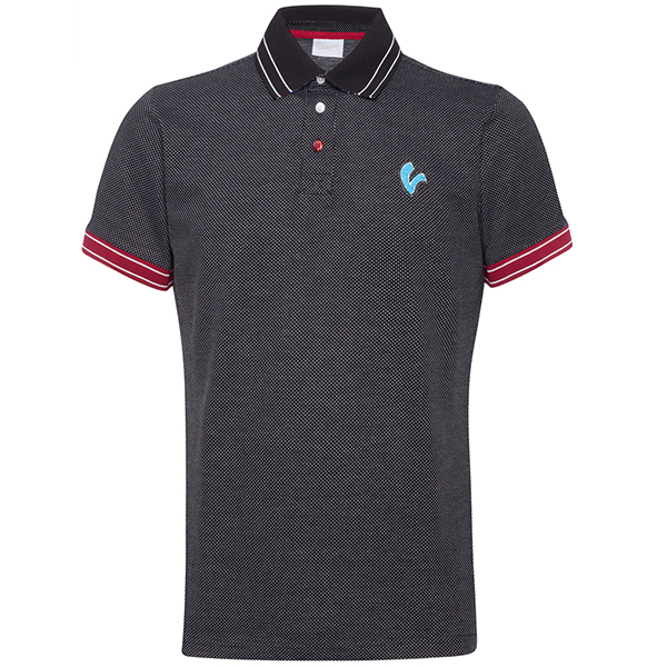 Vespa Official Polo Shirts-V STRIPES-