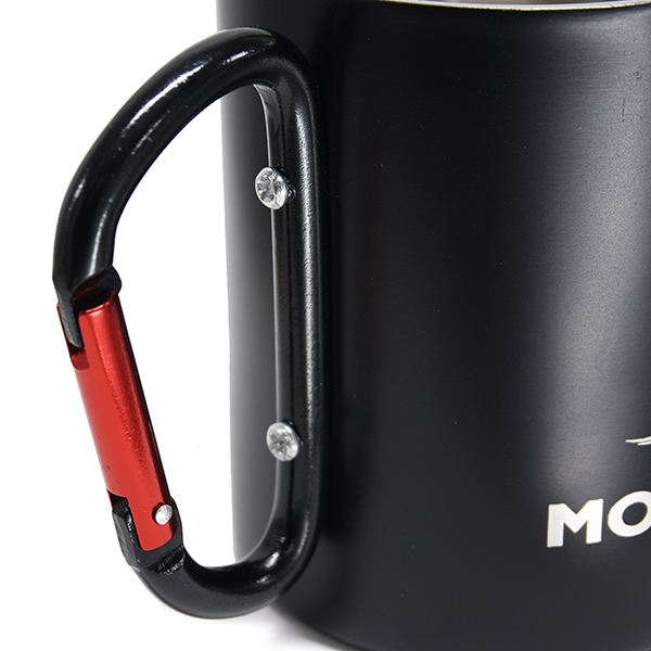 Moto Gucci Official Stainless Mug(Black)