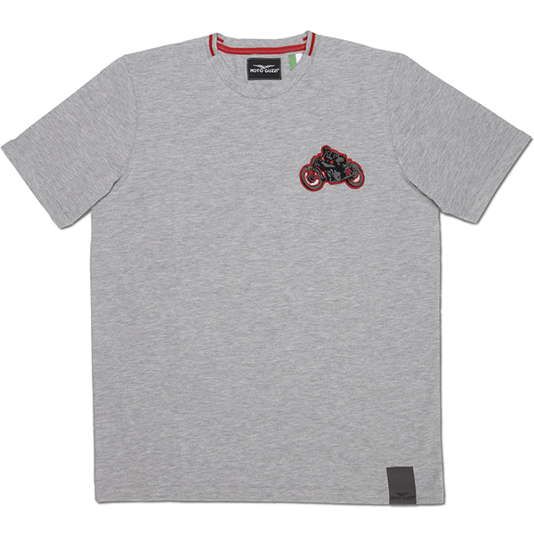 Moto Guzzi Official T-shirts-GARAGE-