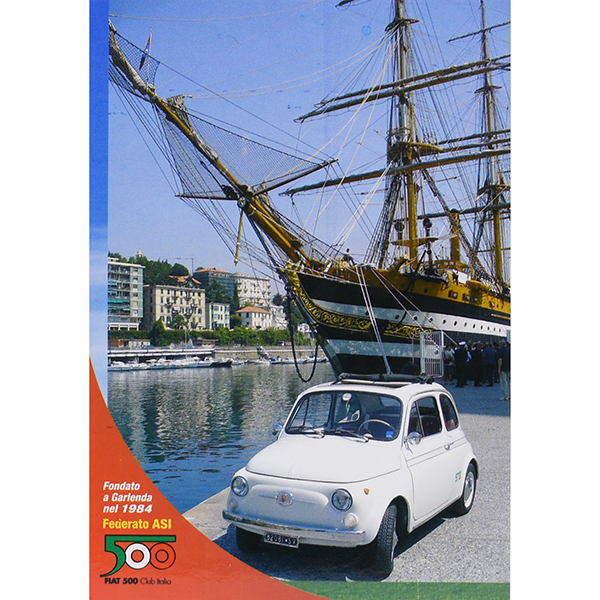 FIAT 500 CLUB ITALIA Post Card