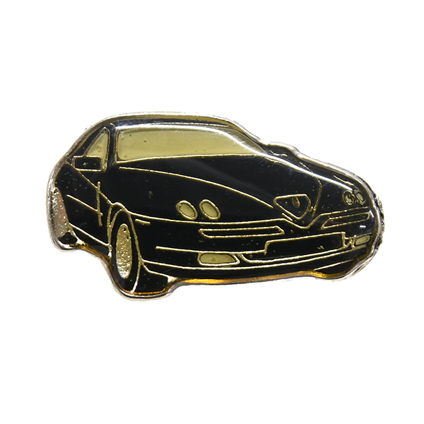 Alfa Romeo GTV Pin Badge(Black)