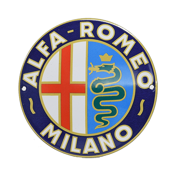 Alfa Romeo MILANO Sign Boad(120mm)