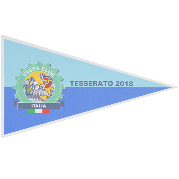 Vespa Club ITALIA Official 2018 Sticker