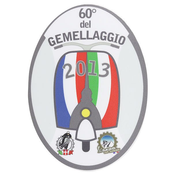 Vespa Club GEMELLAGGIO Official 2013 Sticker