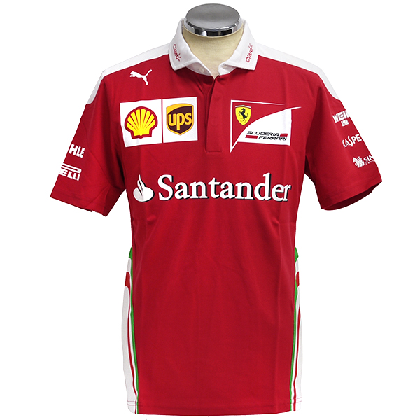 Scuderia Ferrari 2016 Team Staff Polo Shirts