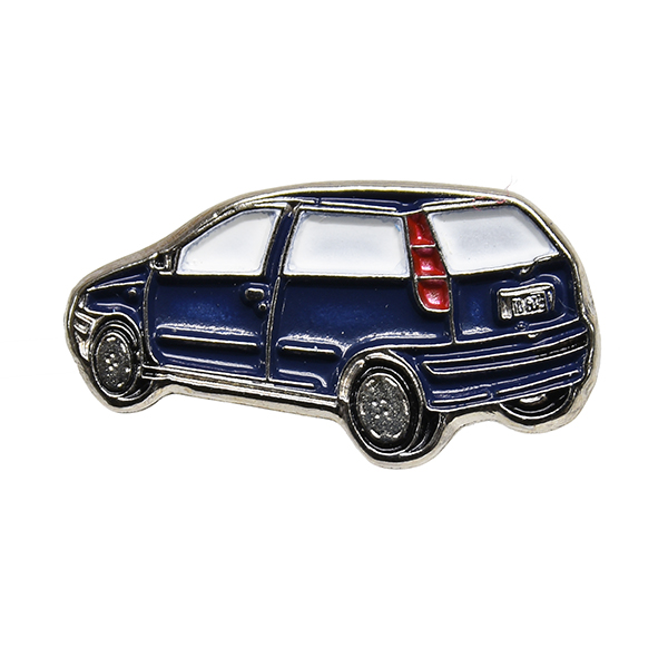 FIAT Punto Pin Badge(Back/Blue)