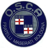 O.S.C.A. Emblem Sticker(Large)