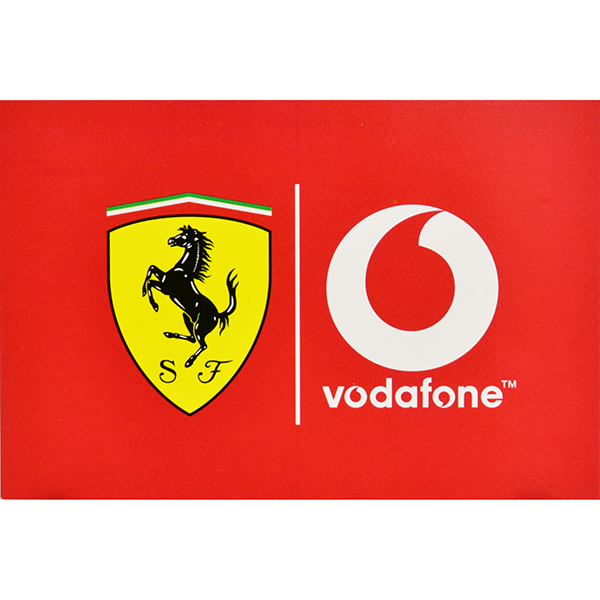 Scuderia Ferrari X vodafone Post Card