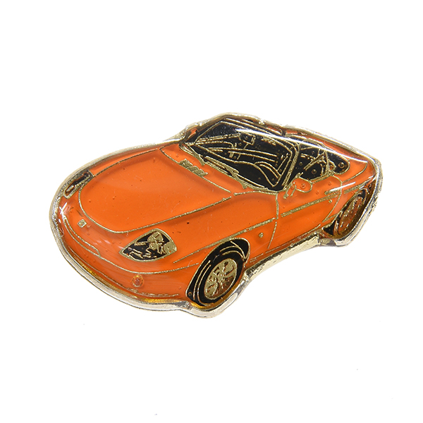 FIAT barchetta Pin Badge(Orange)