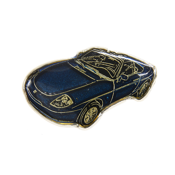 FIAT barchetta Pin Badge(Navy)
