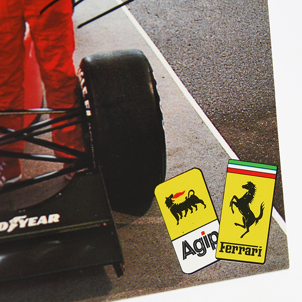 Agip Official 1990 Press Card