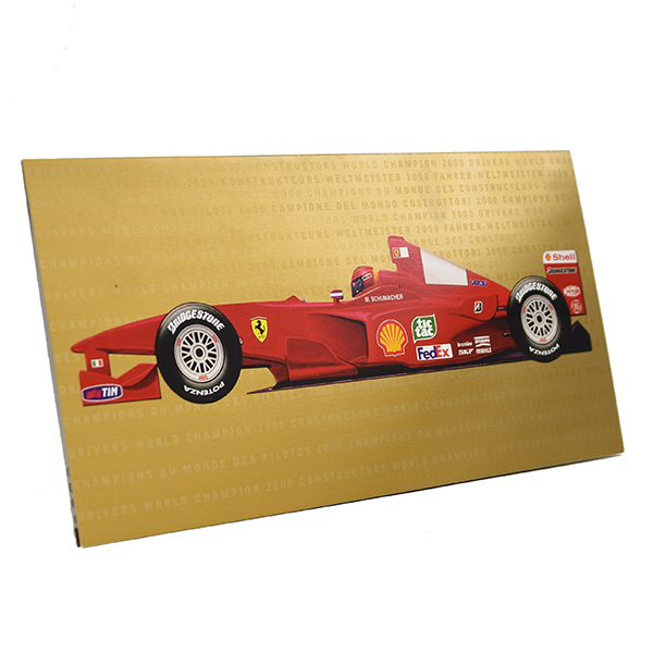 Scuderia Ferrari 2000 Greeting Card