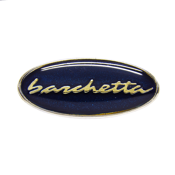 FIAT barchetta Oval Shaped Logo Pin Badge(Navy)