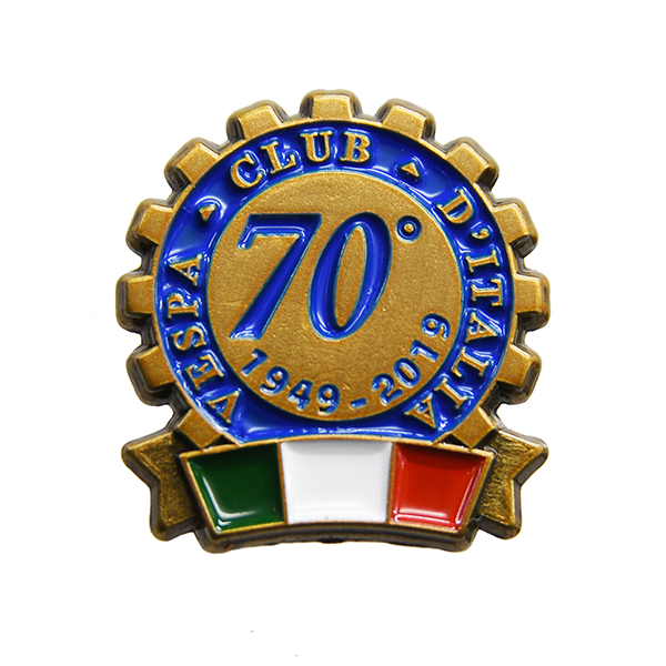 Vespa Club ITALIA 70anni Pin Badge
