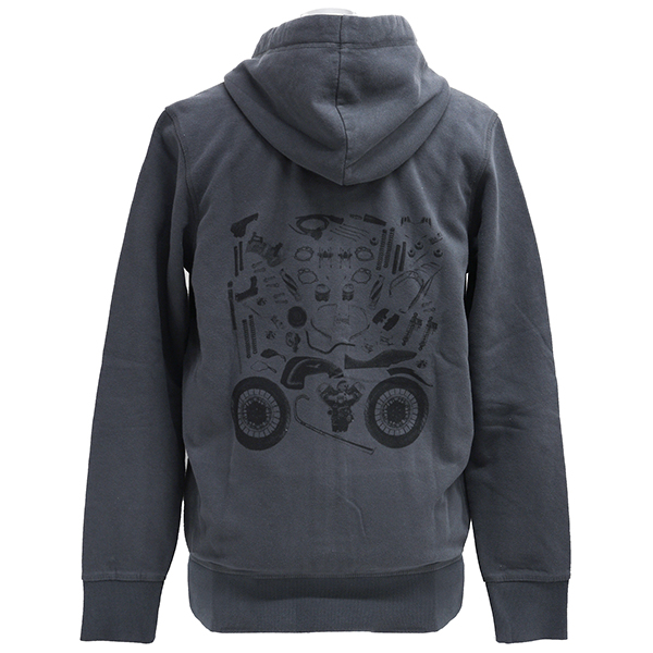 Moto Guzzi Official Zip Up Hoodie-CUSTOM PUZZLE-