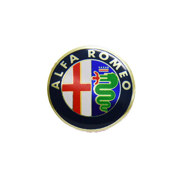 Alfa Romeo Emblem Alu Plate(Colour/14mm)