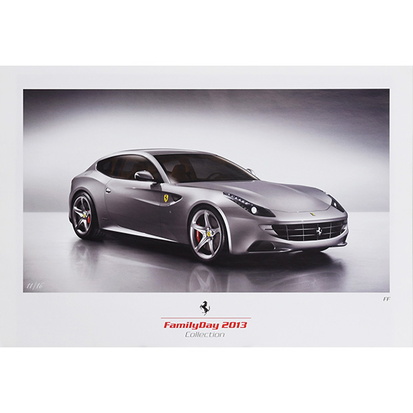 Ferrari FAMILY DAY 2013 Memorial Poster Set(3pcs.)