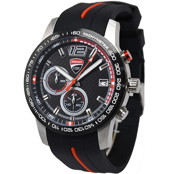 DUCATI Chronograph Watch-D.C Redline-