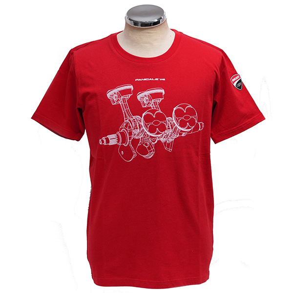 DUCATI Official T-Shirts-V4 Panigale-