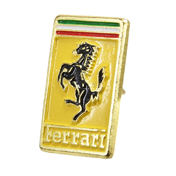Ferrari Emblem-shaped Pin Badge