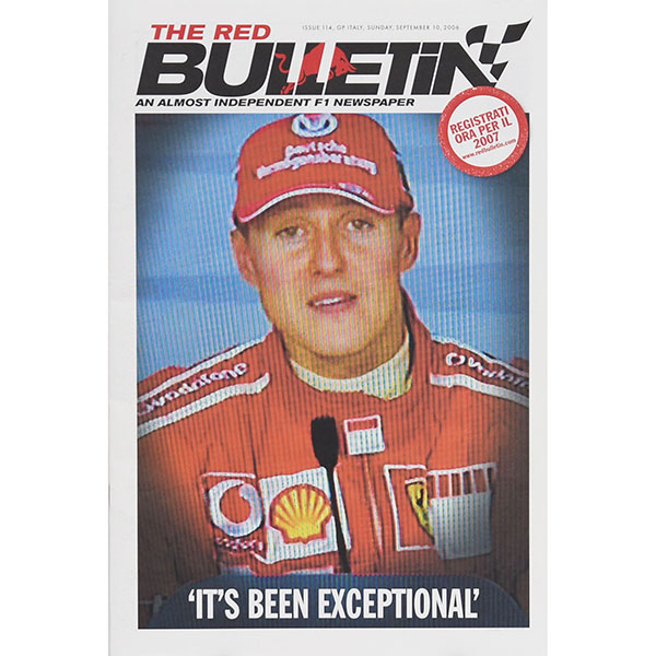 THE RED BULLETIN No.114 GP ITALY 2006