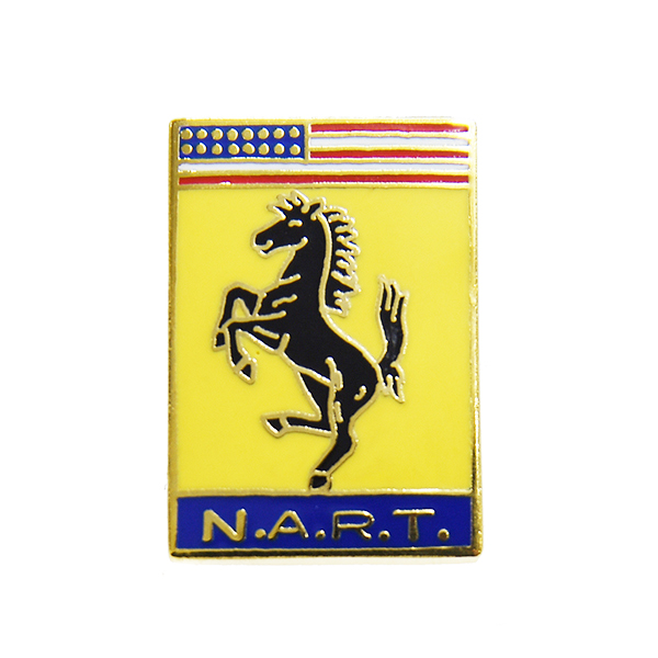 Ferrari N.A.R.T. Pin Badge