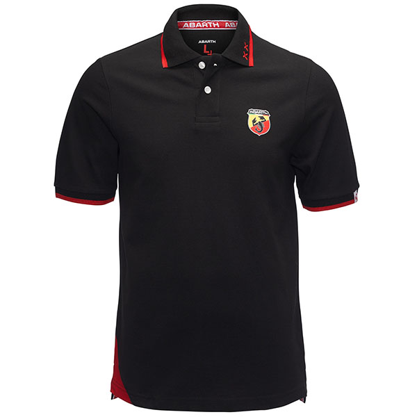 ABARTH Polo-Shirts(Black)