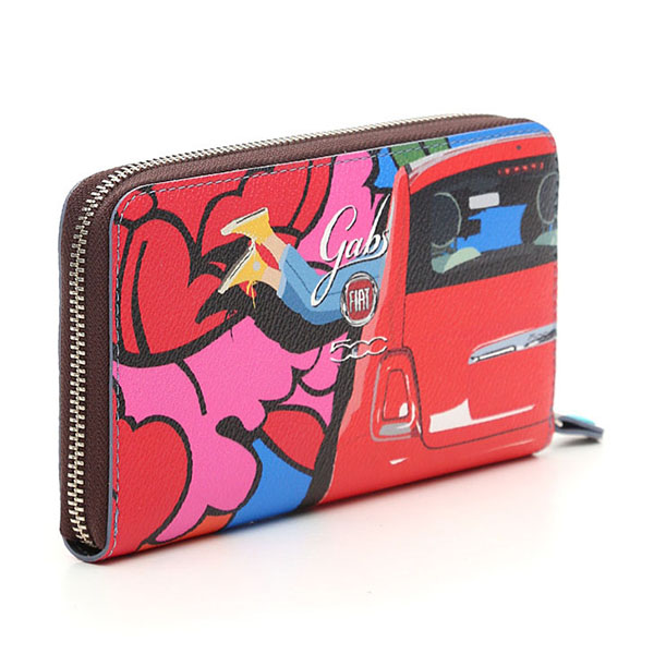 FIAT 500 Long Wallet -Brooklyn-by gabs