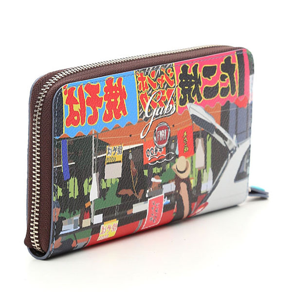 FIAT 500 Long Wallet-Yoyogi-by gabs