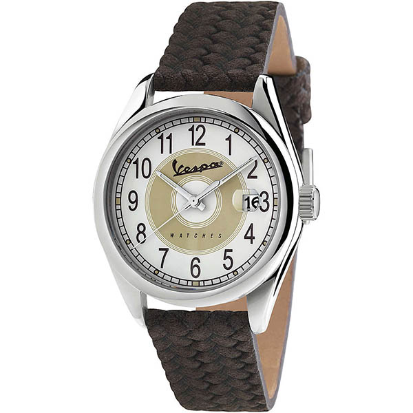 Vespa Official Watch-HERITAGE-(Brown)