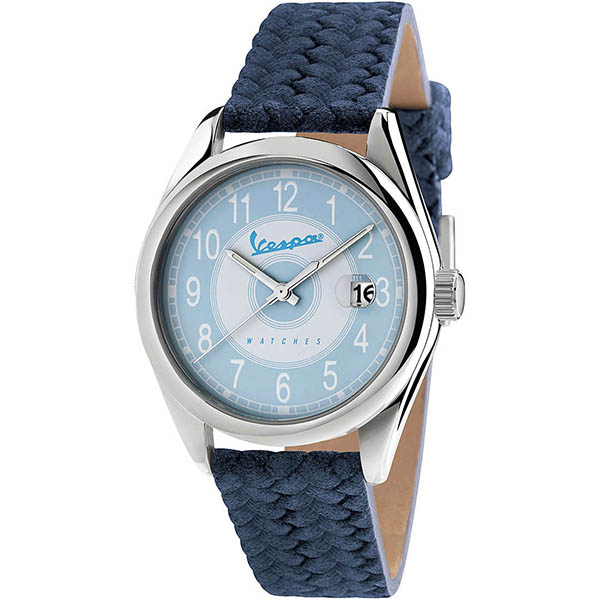 Vespa Official Watch-HERITAGE-(blue)