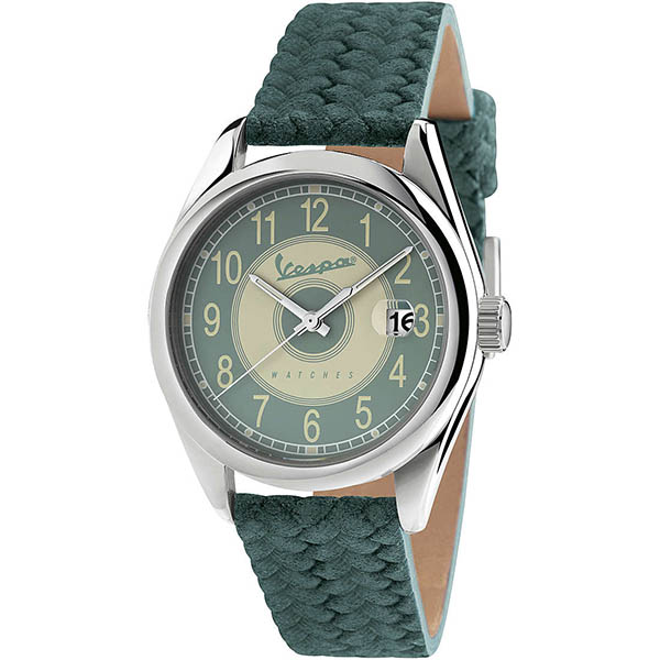 Vespa Official Watch-HERITAGE-(Green)