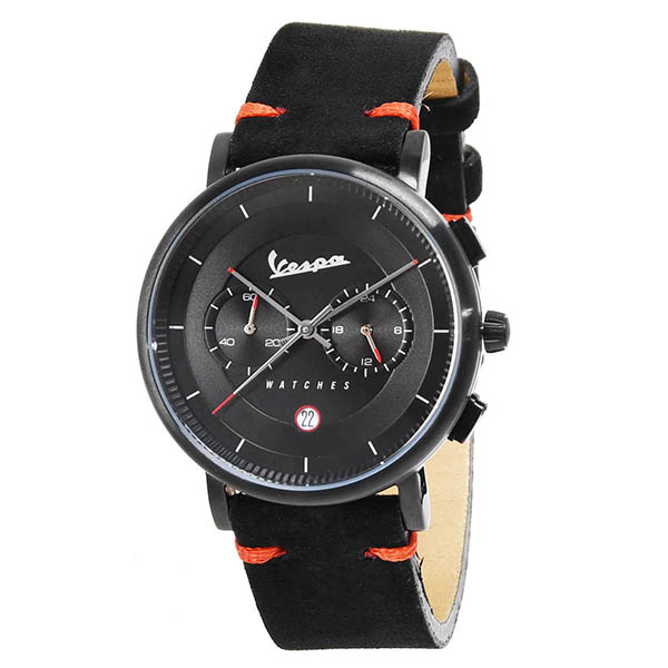 Vespa Official Chronograph Watch-CLASSY/Black-