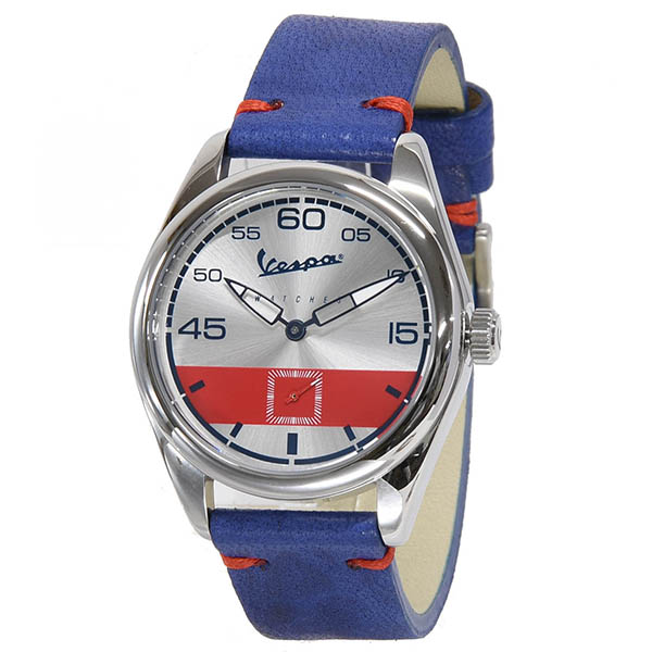 Vespa Official Watch-HERITAGE Service/blue-