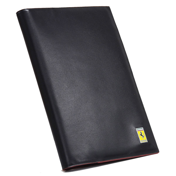 Ferrari Leather Passport Cover
