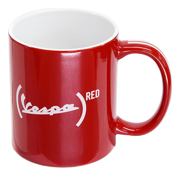 Vespa Official Mug Cup-946 RED-