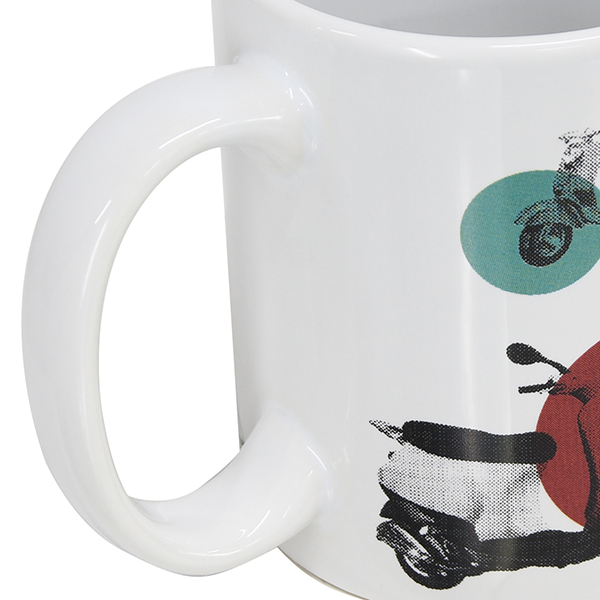 Vespa Official Mug Cup-70 YEARS YOUNG-