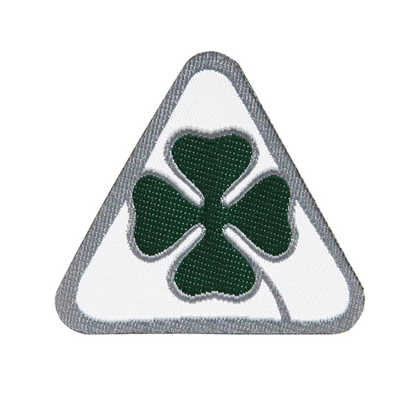 Alfa Romeo NEW Quadrifoglio Patch(Small)-21826-