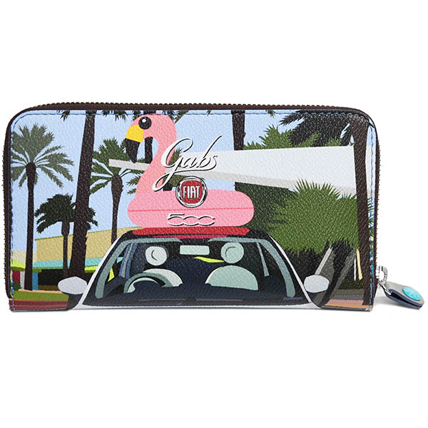 FIAT 500 Long Wallet-South Beach-by gabs