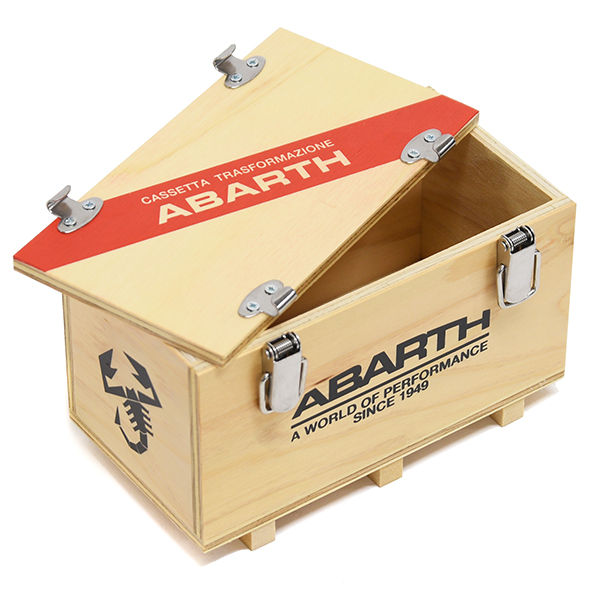 ABARTH Wooden container Box(150mm)<br><font size=-1 color=red>02/03到着</font>