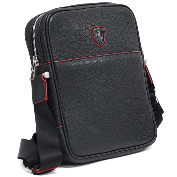 Ferrari Leather Schoulder Bag