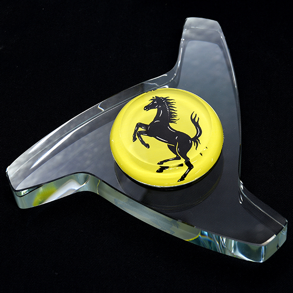 Ferrari Wheel center Lock Glass Object