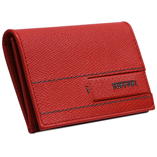 Ferrari GT Leather Card Case(Red)