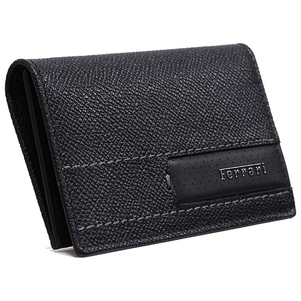 Ferrari GT Leather Bussiness Card Case(Black)