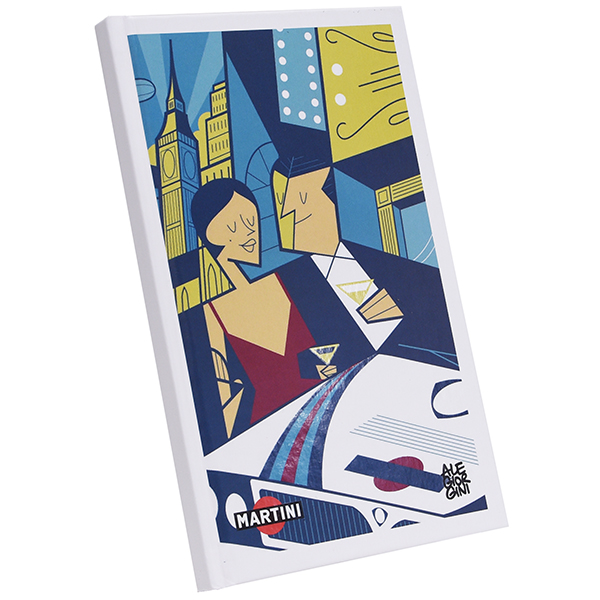 MARTINI RACING Official Note Book(DELTA) by Ale Giorgini