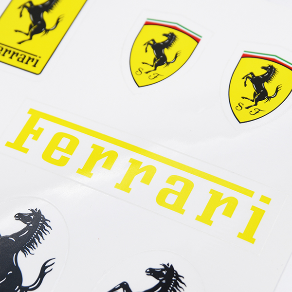 Ferrari Sticker Set