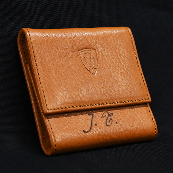 Jean Todt Leather Coin Case by Schedoni