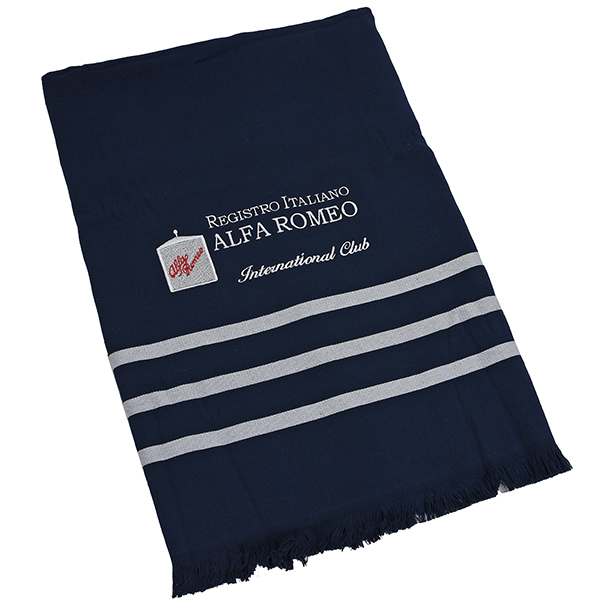Registro Italiano Alfa Romeo Blanket made of toweling