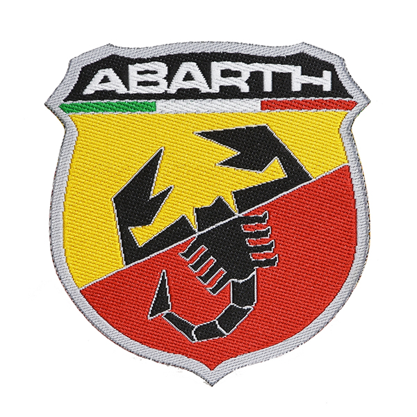 ABARTH Emblem Shaped Patch